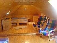 podkroví - část ložnice