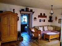 Obývací pokoj - Nižní Lhoty