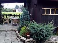 Terasa - chalupa ubytování Nižní Lhoty
