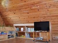 Wi-Fi, Smart TV, DVD, knížky, časopisy, hry - u nás můžete krásně relaxovat - Skalice
