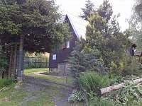 chata Milka čelní pohled - k pronajmutí Horní Bečva