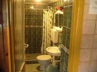 koupelna, WC - chata k pronajmutí Horní Bečva