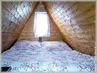 ložnice v podkroví - chata ubytování Horní Bečva