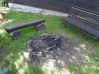 ohniště - chata k pronájmu Horní Bečva