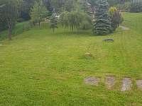 zahrada - chata k pronajmutí Nýdek