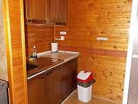 Kuchyň chata 5 lůžková