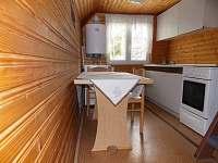 kuchyňka chata 7 lůžková