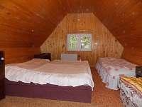 ložnice chata 8 lůžková