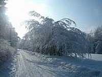 zima - pronájem chaty Trojanovice