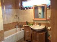 chata Rusava, koupelna