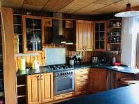chata Rusava,kuchyně