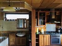 chata Rusava,kuchyně, koupelna