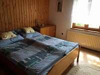 chata Rusava,ložnice 2