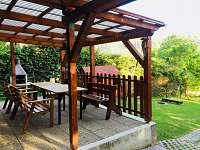 chata Rusava, posezení