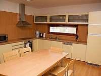 kuchyň ve vile - ubytování Horní Bečva