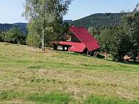 Chalupa zezadu - ubytování Velké Karlovice - Jezerné