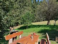 Posezeni - chalupa k pronájmu Velké Karlovice - Jezerné