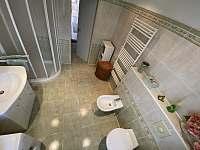 Koupelna apartmán 2 - Hukvaldy
