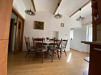Kuchyň apartmán 1 - chalupa ubytování Hukvaldy