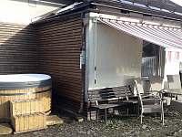 Odpočinková zóna - chalupa ubytování Hukvaldy