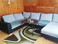 Chalupa U Sylvy obývací pokoj - ubytování Horní Bečva