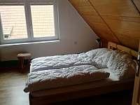 Chalupa U Sylvy vrchní ložnice 2 - ubytování Horní Bečva