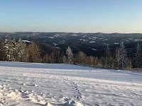 Příroda v zimě - Velké Karlovice