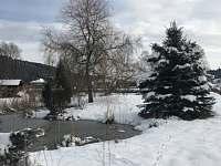 Zima ve Velkých Karlovicích -