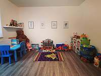 Dětský koutek (místnost) - pronájem chalupy Rusava 216