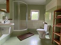 Ubytování ve dvoře I. Apartmán č.1 koupelna - k pronájmu Mosty u Jablunkova