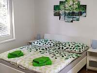 Apartmánový pokoj pro 4 osoby s kuchyní a krbovými kamny - manželská postel - chata k pronajmutí Nýdek