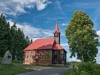 Dřevěný kostel u Domu sv. Josefa - Staré Hamry