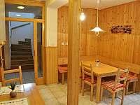 Kuchyňka (jídelna) v novější části hlavní budovy - Staré Hamry