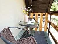 balkonek u horní ložnice - Řeka