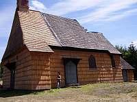 dřevěný kostelíček na Prašivé - Řeka