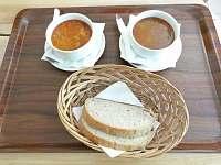 možná ochutnáte i typické pravé gorolské polévky - Řeka