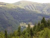 panorama Beskyd - Řeka