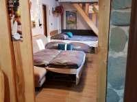 pohled do ložnice - apartmán k pronájmu Řeka