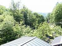 výhled z horní ložnice západním směrem - Řeka