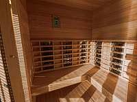 Infra Sauna 4/5 osob nejnovější model - Prostřední Bečva