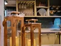 Kuchyn - chata k pronajmutí Prostřední Bečva