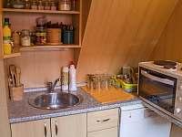 Kuchyňka - chata k pronájmu Prostřední Bečva