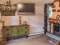 společenská místnost - chata k pronájmu Prostřední Bečva