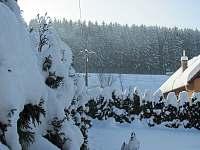 Pohled na kopec Planisko od Chalupy - ubytování Vranča u Nového Hrozenkova
