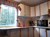 kuchyň - chata k pronajmutí Vyšní Lhoty