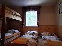 ložnice 2 - pronájem chaty Vyšní Lhoty