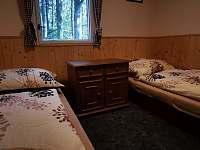 ložnice - chata k pronajmutí Vyšní Lhoty