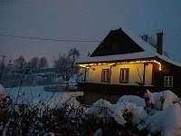 Zima na Hrozenkově:-) - chalupa k pronajmutí Nový Hrozenkov