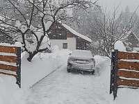 Foto z 16.1.2021 - chata k pronajmutí Horní Bečva