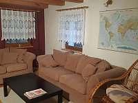 Obývací pokoj - chata k pronajmutí Horní Bečva